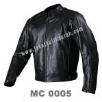 Jaket Kulit Klasik Pria MC 0005